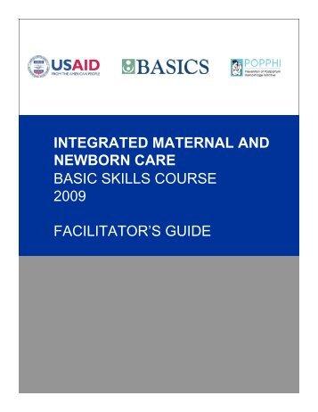 Facilitator's Guide - basics