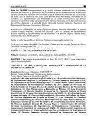Acta N° 26-2012 - Archivo Nacional de Costa Rica