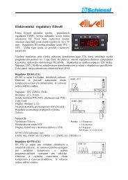Eliwell-elektronické regulátory ID / IS