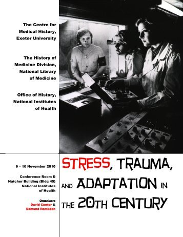 Stress, Trauma, and Adaptation in the 20th Century - Office of NIH ...