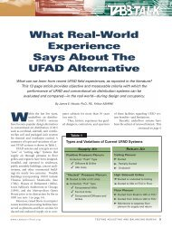 What Real-World Experience Says About The UFAD ... - DOAS
