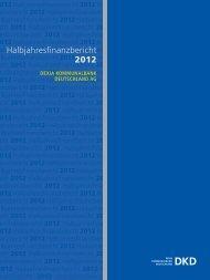 Halbjahresfinanzbericht 2012 - Dexia Hypothekenbank Berlin AG