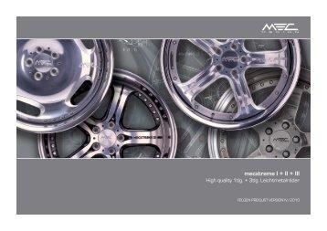 mecxtreme I + II + III - MEC DESIGN