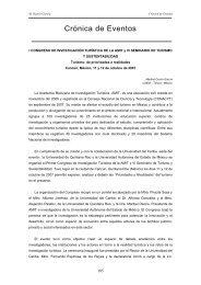 Crónica de Eventos - Estudios y Perspectivas en Turismo