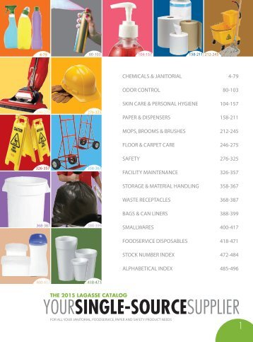 CHEMICALS & JANITORIAL SUPPLY Catalog 2015, pages 1-79