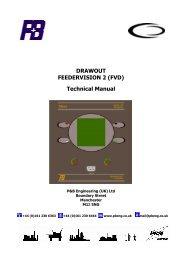 (FVD) Technical Manual - PBSI Group Ltd