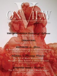 On View Magazine - Rob Kaz feature page 6