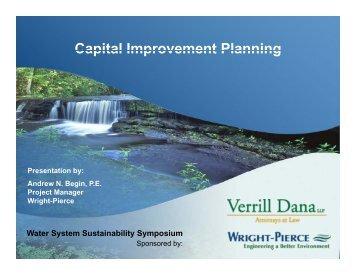 Capital Improvement Planning - Verrill Dana