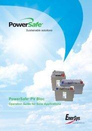 EN-PS-PV Bloc-Og-001 110813 v2 - Enersys - EMEA