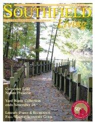 Southfield Living - Carpenter Lake Nature Preserve - Alliance of ...