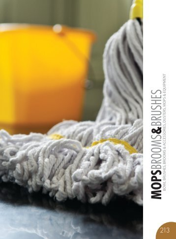 MOPS, BROOM & BRUSHES Catalog 2015, pages 212-245