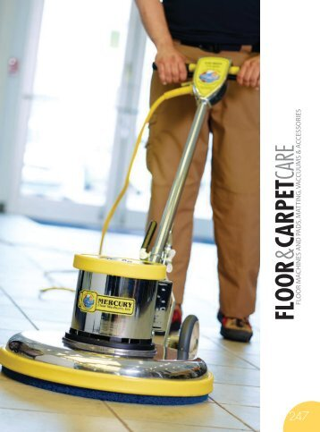 FLOOR & CARPET CARE Catalog 2015, pages 246-275