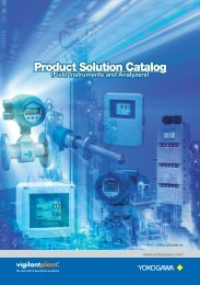 Product Solution Catalog (Field Instruments and ... - Yokogawa