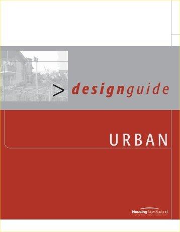 Design Guide - Urban - Housing New Zealand