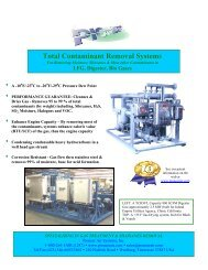 Total Contaminant Removal Systems - Pioneer Air Systems ...
