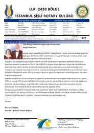 1399 - Şişli Rotary Kulübü
