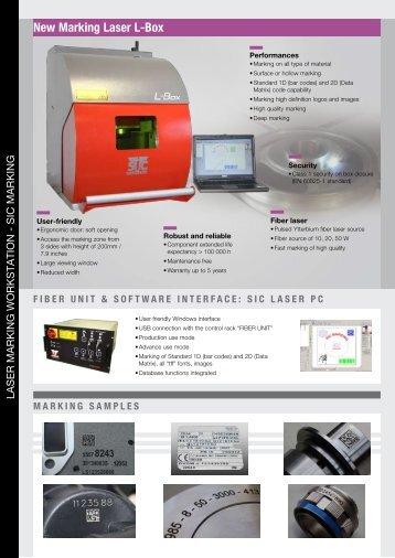 new Marking laser l-box - Sic Marking