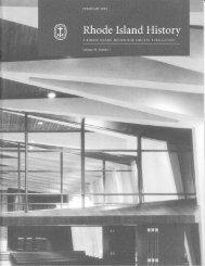 i:ri,: : - Rhode Island Historical Society