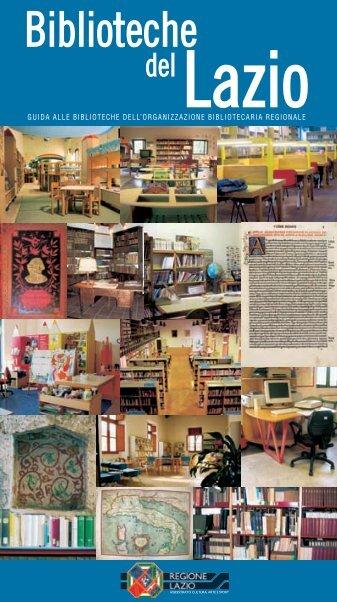 Biblioteche - Cultura Lazio