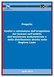 Progetto - Agenzia di Sanità Pubblica della Regione Lazio