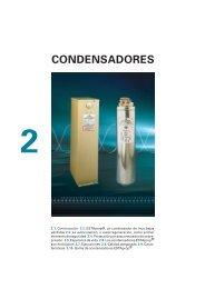 Condensadores Esta Prop de BT. Manual CYDESA