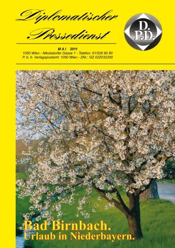 Bad Birnbach. - Diplomatischer Pressedienst
