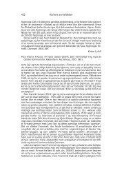 422 Kortere anmeldelser - Historisk Tidsskrift
