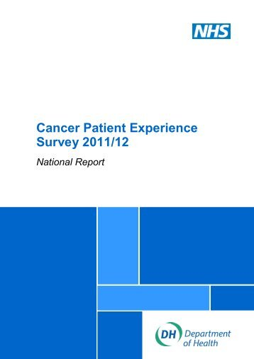 Cancer-Patient-Experience-Survey-National-Report-2011-12