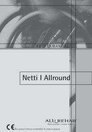 Brukermanual Netti I Allround - Alu Rehab