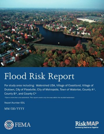 Example Flood Risk Report