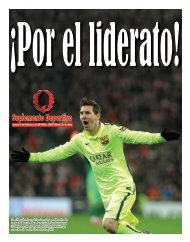 Suplemento Deportivo 09 de Febrero de 2015