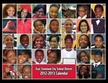 2012-2013 Calendar - East Cleveland City Schools