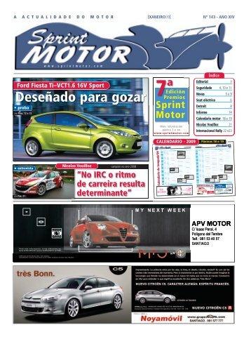 Calendario 2009 - Sprint Motor