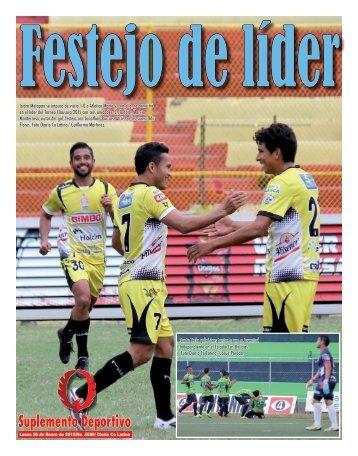 Suplemento Deportivo 26 de Enero de 2015