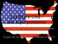 Séance Power Point Les Etats-Unis.pdf - Cours histoire-géographie