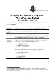 4E Mapping and Benchmarking Annex - IEA 4E - Mapping ...
