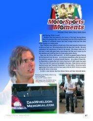 Motorsports Moments - Territorial Magazine