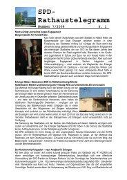 Nummer 7/2008 - SPD-Fraktion im Erlanger Stadtrat