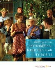 INTERNATIONAL MARKETING PLAN FY 2013/14 - Travel South USA