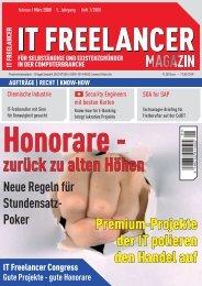 IT Freelancer Magazin Nr. 1/2008