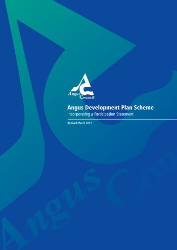 Development Plan Scheme for Angus - Angus Council