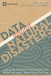 Data against Natural Disasters - (IPCC) - Working Group 2