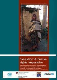 Sanitation a Human Rights Imperative (WaterAid) - The Water ...