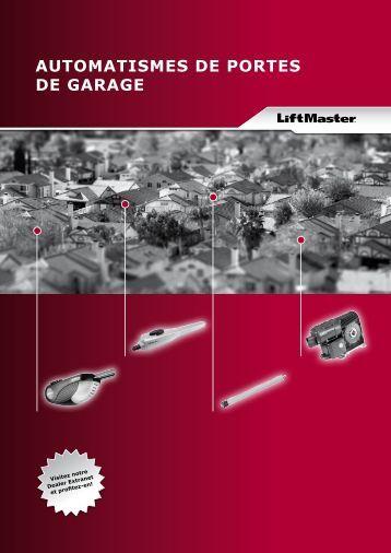 Manuel alsanext portes de garage et automatismes - Automatisme de porte de garage ...