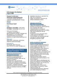 Informasjon fra KoKom, august 2009