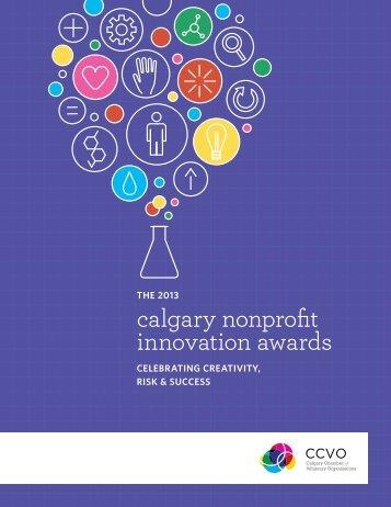 calgary nonprofit innovation awards