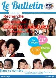 Bulletin du 21/02/13 - Lycée Français Kuala Lumpur