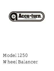 Model 1250 Wheel Balancer - Atlantic Auto Suppliers