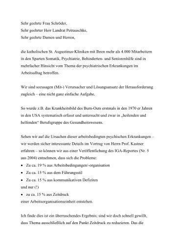 Sehr geehrte Frau Schröder, - Institut für Betriebliche ...