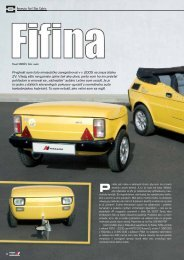 Prvýkrát som toto miniautíčko zaregistroval v r. 2005 ... - AutoTuning.sk